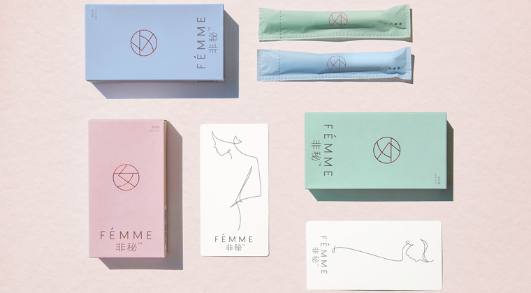 Wired has featured Pearlfisher's design of Chinese tampon brand, Femme, in a 'boring objects' that come in 'pretty packaging'.