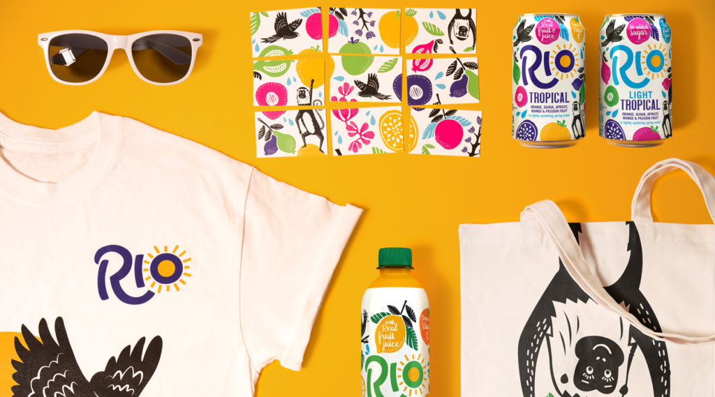The Dieline interviews strategic branding and design agency, Pearlfisher, about its reinvention of beverage icon, Rio.