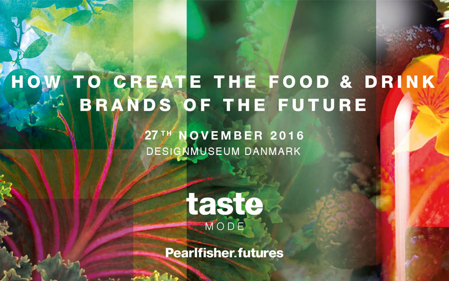 Taste Mode Copenhagen - the third in Pearlfisher's global launch event series for Taste Mode 2016 - took place in the beautiful DesignmuseumDanmark.