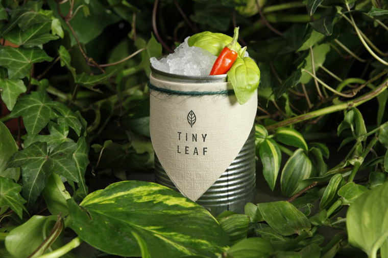 Alice Gilsenan, co-founder and Marketing Director for Tiny Leaf London, discussed her zero-waste commitment at Pearlfisher's Taste Mode event in London.