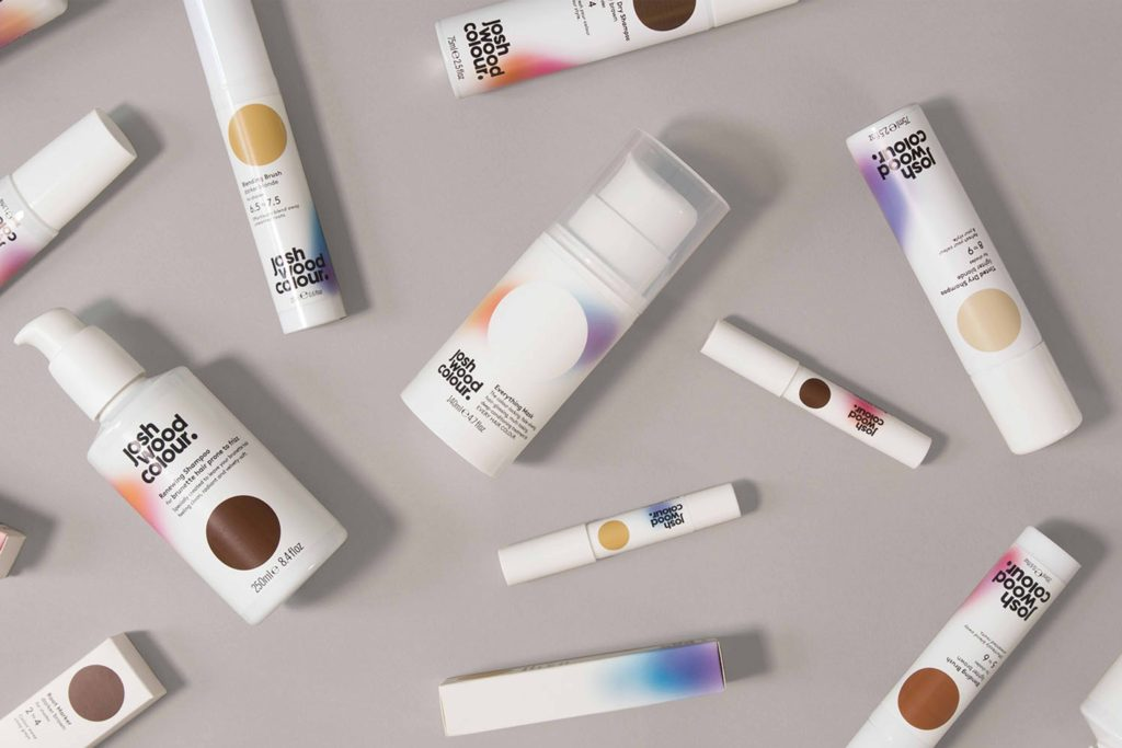 Pearlfisher creates new identity for Josh Wood and his innovative new home hair colour system- Josh Wood Colour for joshwoodcolour.com and Walgreens Boots